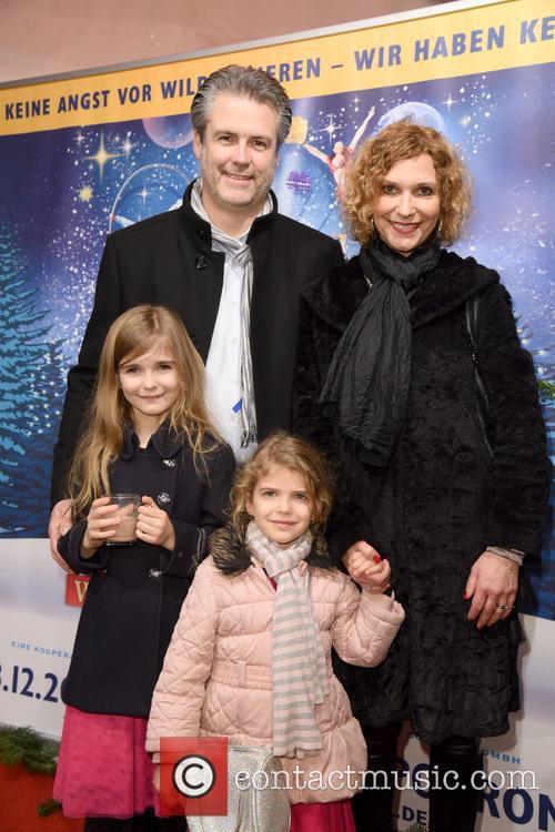 Heiko Braun, Heike Kloss, Daughter Olivia and Daughter Magda 2