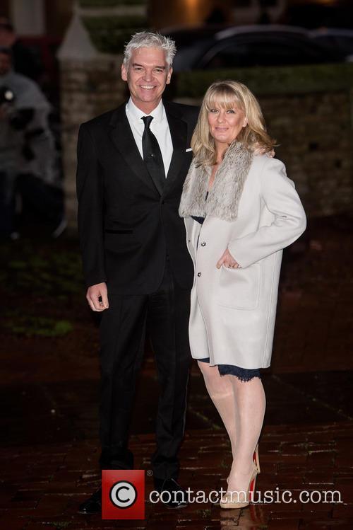 Philip Schofield and Stephanie Lowe 1