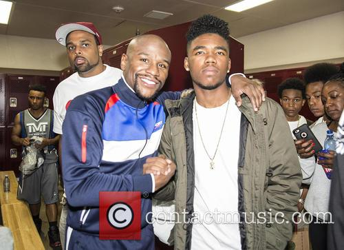 Floyd Mayweather and Lil Caine The Artist 3