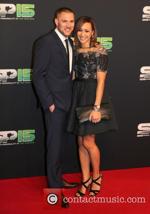 Jessica Ennis-hill and Andy Hill 2
