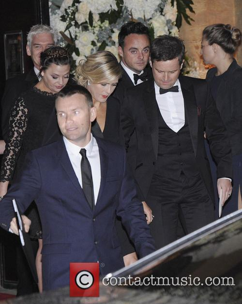 Anthony Mcpartlin, Declan Donnelly, Ant & Dec, Ant, Dec, Lisa Armstrong and Ali Astall 2