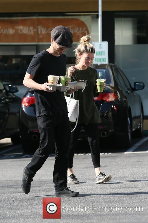 Aaron Paul and Lauren Parsekian 9