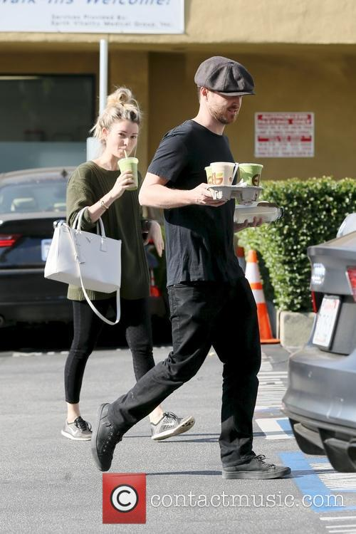Aaron Paul and Lauren Parsekian 10