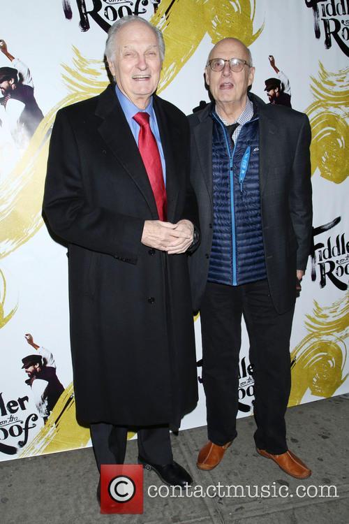 Alan Alda and Jeffrey Tambor 3