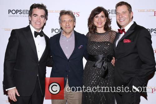 Brian D'arcy James, Alain Boublil, Stephanie J. Block and Steven Reineke 3