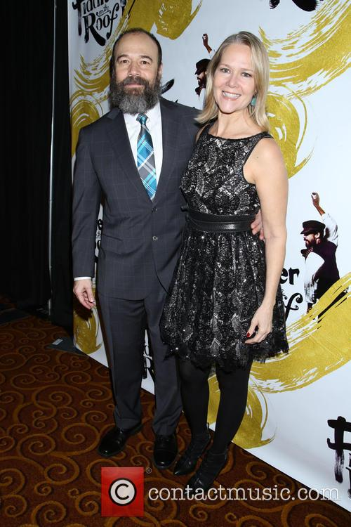 Danny Burstein and Rebecca Luker 1