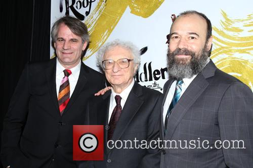 Bartlett Sher, Sheldon Harnick and Danny Burstein 6