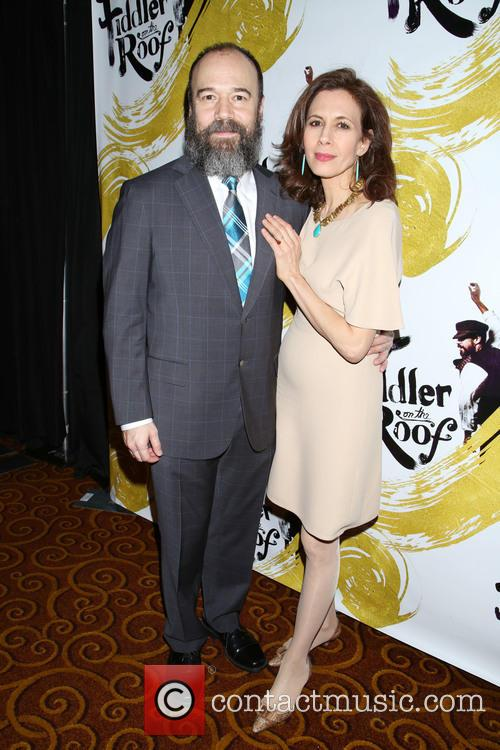 Danny Burstein and Jessica Hecht 6