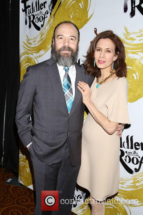 Danny Burstein and Jessica Hecht 7