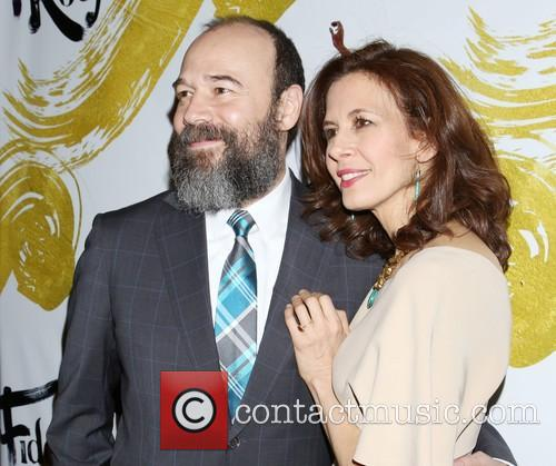 Danny Burstein and Jessica Hecht 8