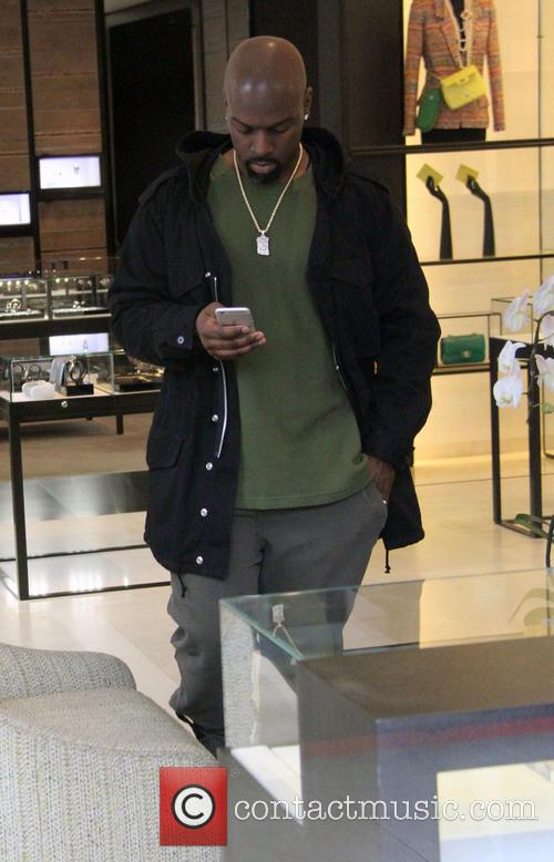 Corey Gamble christmas shopping at Chanel
