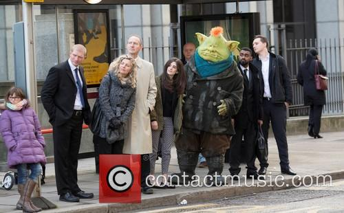 Fungus the Bogeyman Stuns Christmas Shoppers