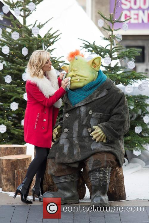 Denise Van Outen and Fungus The Bogeyman 2
