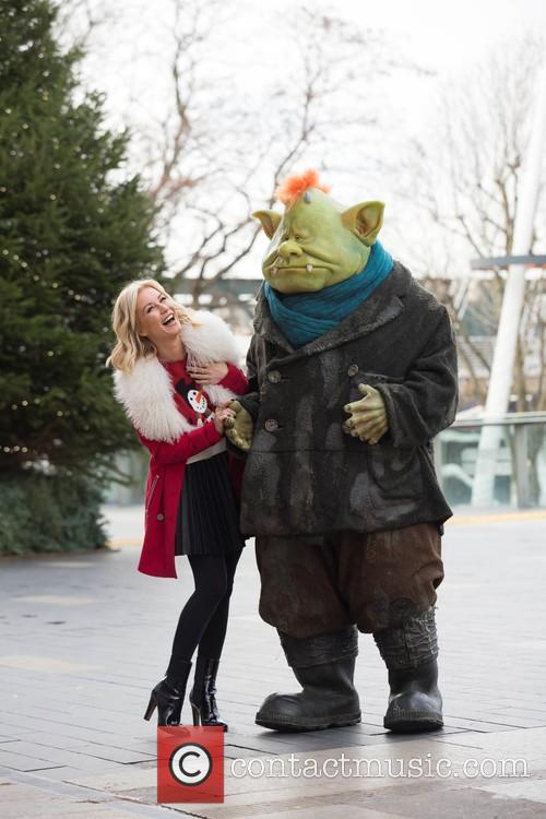 Denise Van Outen and Fungus The Bogeyman 3