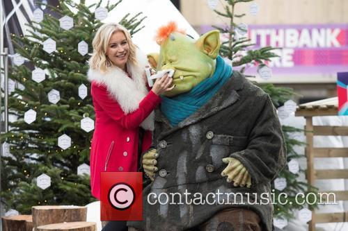 Denise Van Outen and Fungus The Bogeyman 4