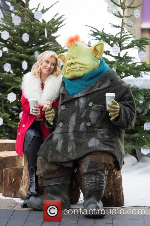 Denise Van Outen and Fungus The Bogeyman 5