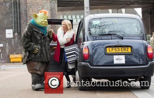 Denise Van Outen and Fungus The Bogeyman 6