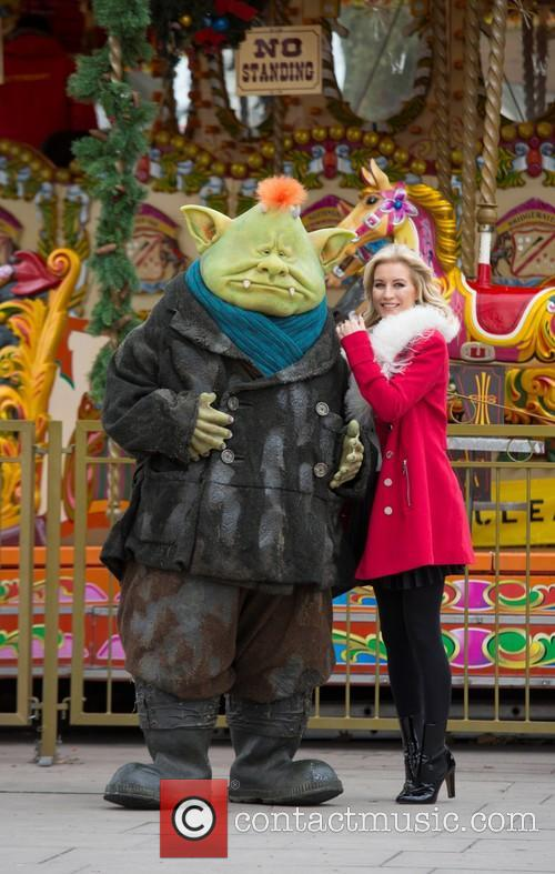 Denise Van Outen and Fungus The Bogeyman 8