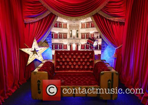 The Celebrity Big Brother 2016 diary room chair