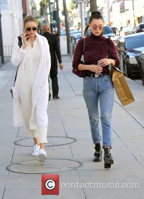 Bella Hadid and Gigi Hadid 3