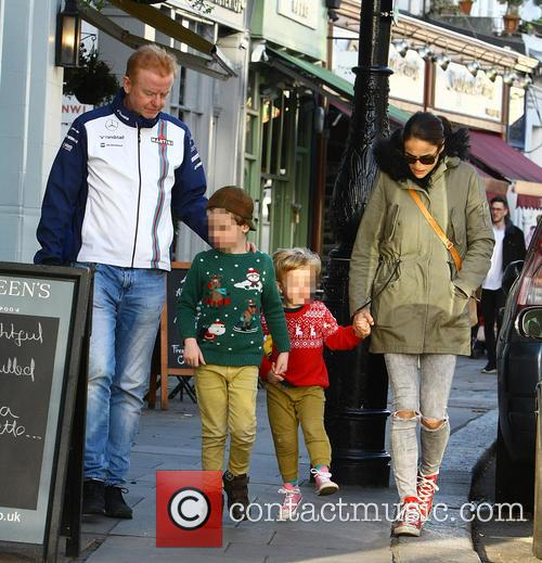 Chris Evans, Natasha Shishmanian, Noah Evans and Eli Evans 3