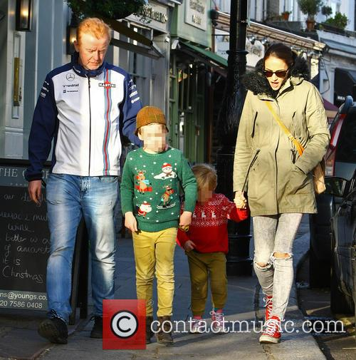 Chris Evans, Natasha Shishmanian, Noah Evans and Eli Evans 4