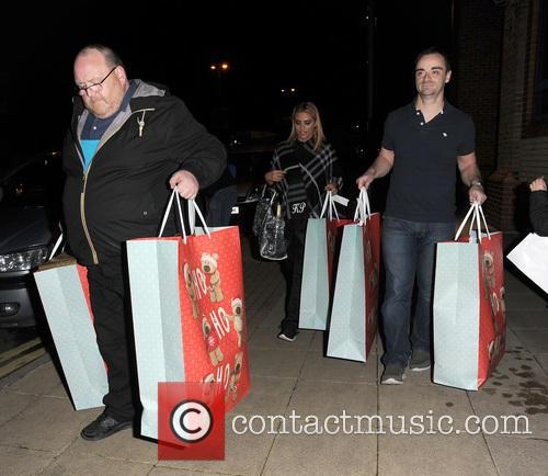 Katie Price leaves the New Victoria Theatre in...