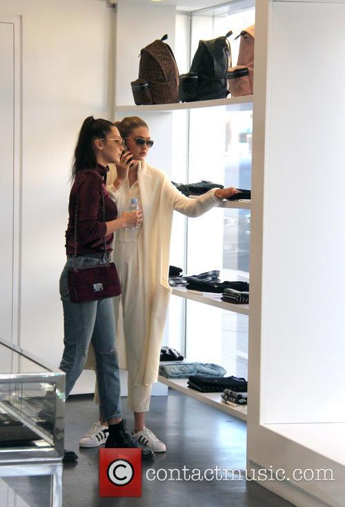Bella Hadid and Gigi Hadid 6