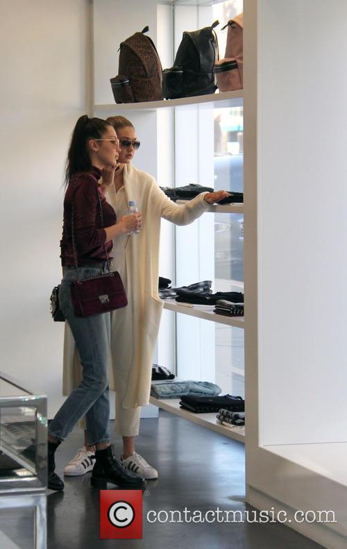 Bella Hadid and Gigi Hadid 7