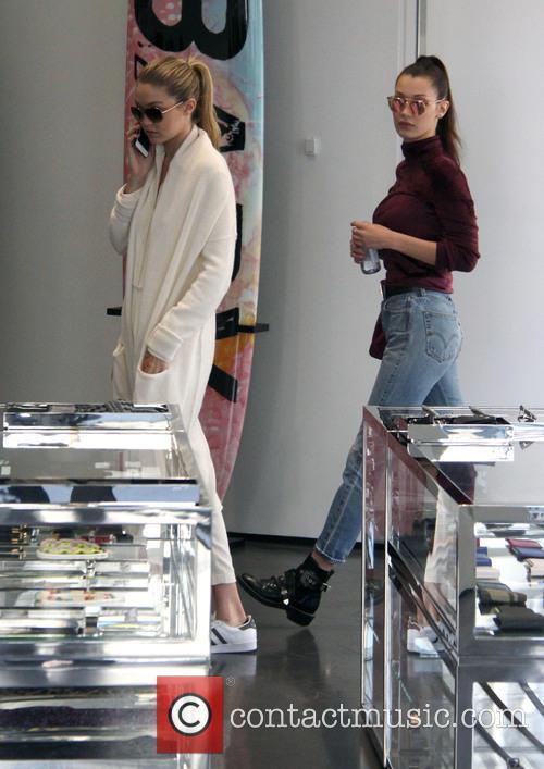 Bella Hadid and Gigi Hadid 8