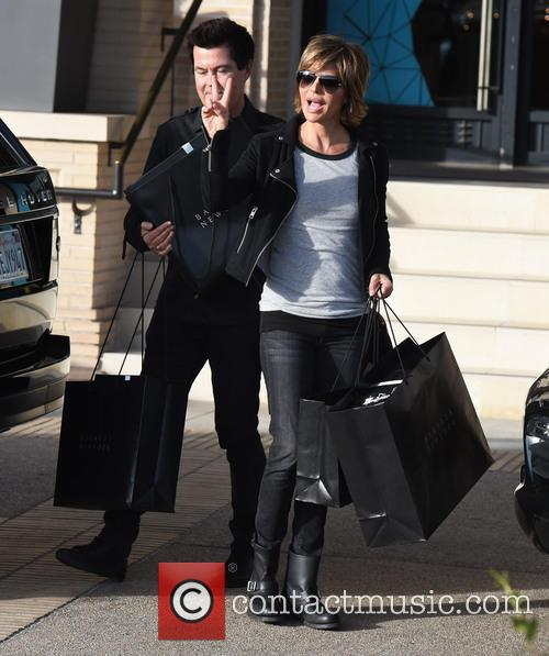 Lisa Rinna and Simon Fuller 9