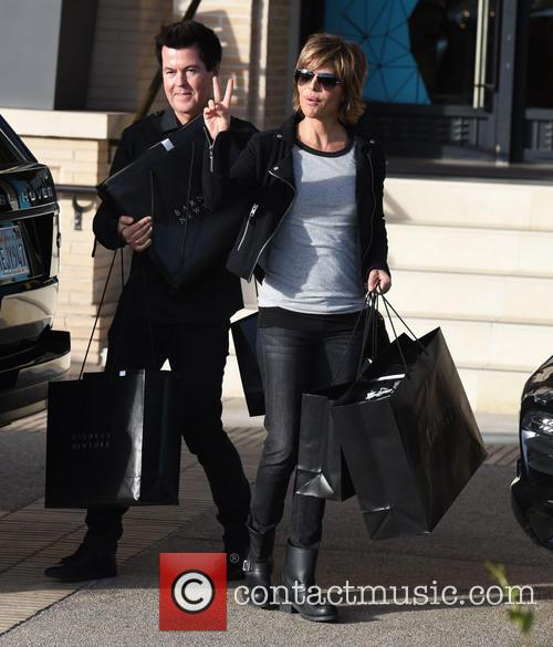 Lisa Rinna and Simon Fuller