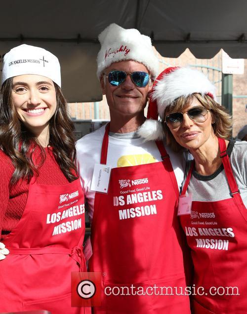 Emmy Rossum, Harry Hamlin and Lisa Rinna 10