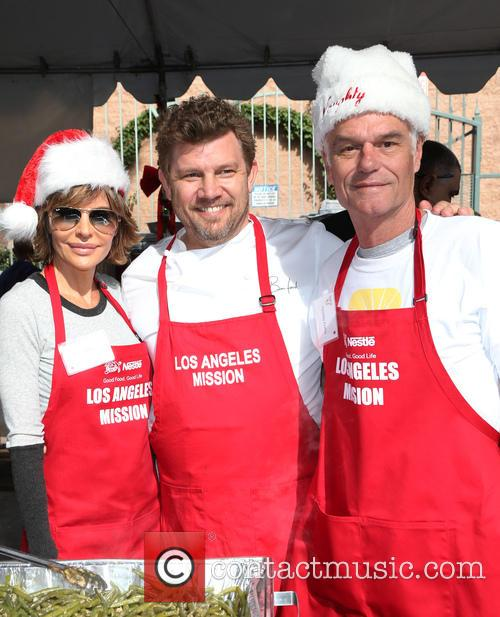 Lisa Rinna, Ben Ford and Harry Hamlin 4