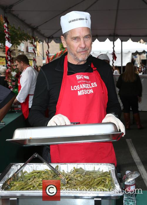 tim matheson los angles mission christmas meal to the