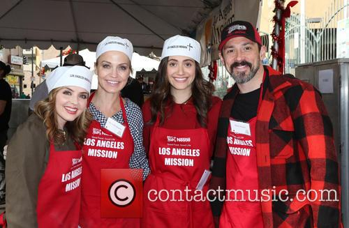 Jen Lilley, Michelle Beadle and Emmy Rossum 5