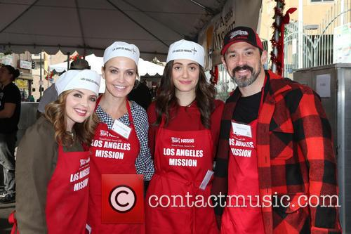 Jen Lilley, Michelle Beadle and Emmy Rossum 6