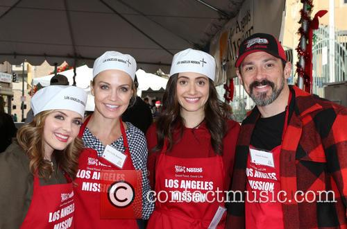 Jen Lilley, Michelle Beadle and Emmy Rossum 7