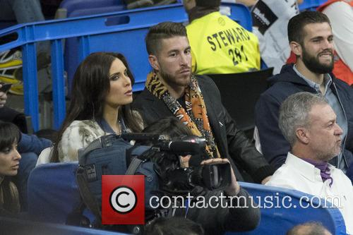 Sergio Ramos and Pilar Rubio 1