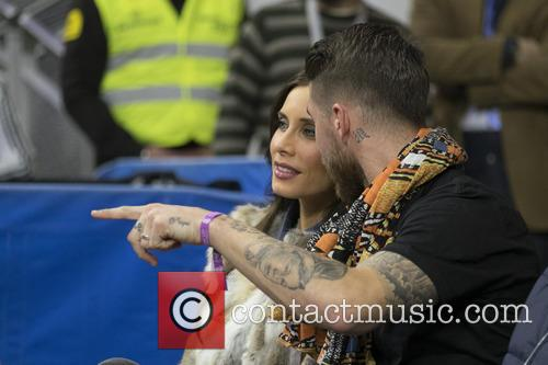 Sergio Ramos and Pilar Rubio 2