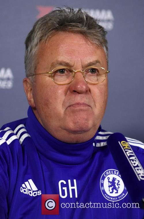 Guus Hiddink Chelsea FC Press Conference