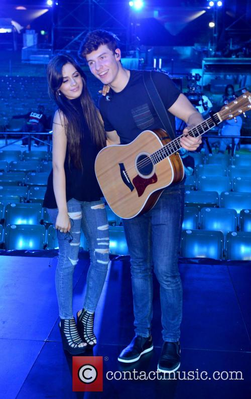 Camila Cabello and Shawn Mendes 2