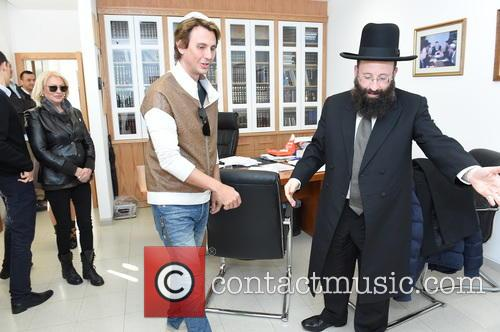 Jonathan Cheban and The Western Wall Rabbai Mr.shmuel Rabinowitz 2