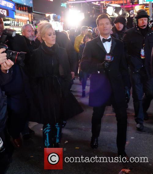Carrie Underwood and Ryan Secreast
