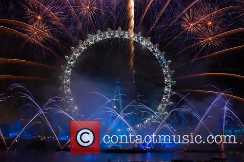 London New Year's Eve with Unicef