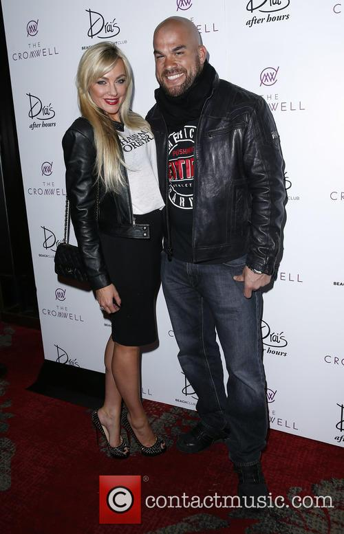 Chris Brown and Amber Nichol Miller. Tito Ortiz 1