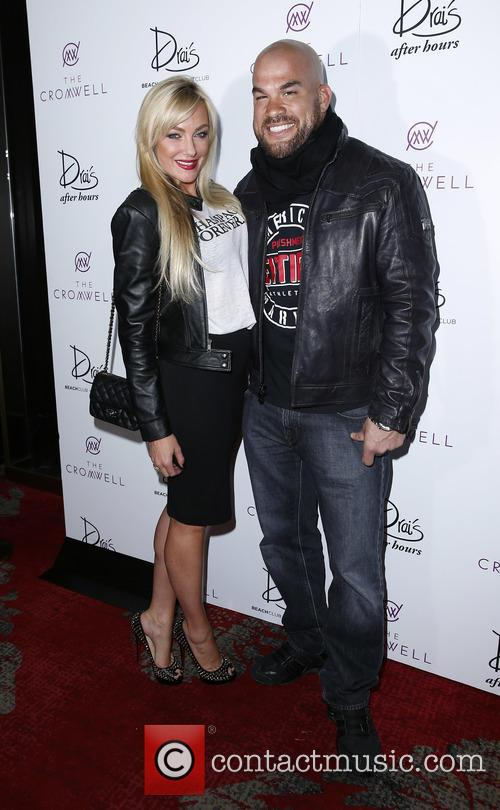 Chris Brown and Amber Nichol Miller. Tito Ortiz 3