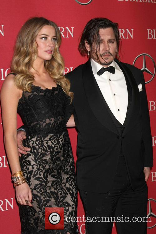 Amber Heard and Johnny Depp 8
