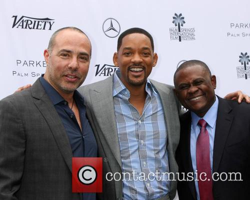 Peter Landesman, Will Smith and Dr. Bennet Omalu 3