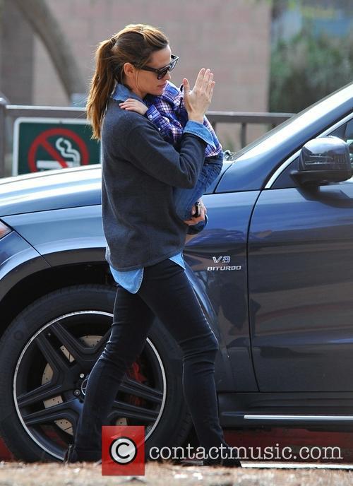 Jennifer Garner and Samuel Garner Affleck 4